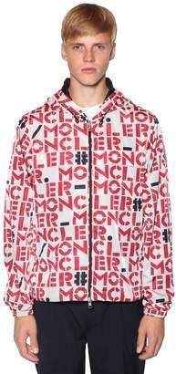 Moncler 1952 Lettering Nylon Casual Jacket