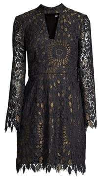 Trina Turk Central Lace Sheath Dress