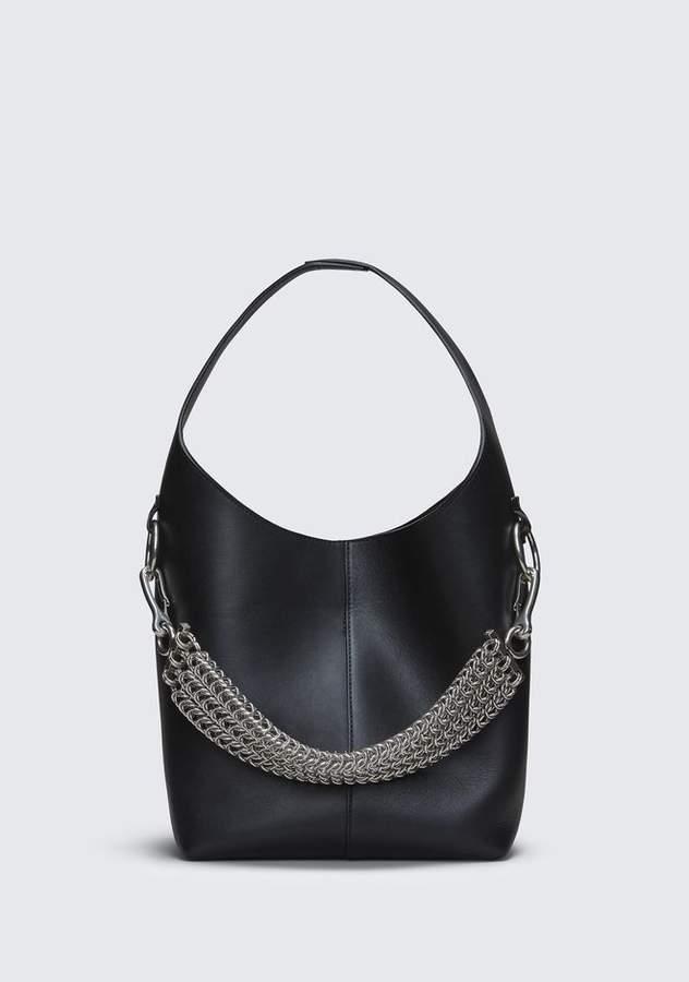Alexander Wang BLACK GENESIS MINI HOBO Shoulder Bag