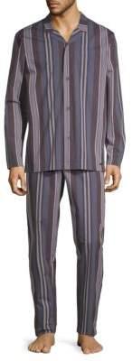 Hanro Noe Two-Piece Pajama Set