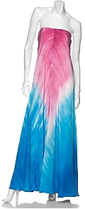 Lacey Parker Silk Ombre Gown