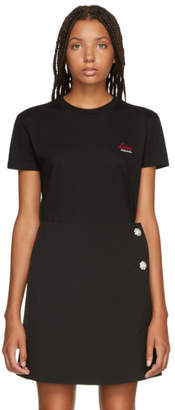 Miu Miu Black Love T-Shirt