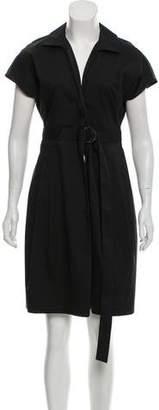 Akris Punto Short Sleeve Mini Dress
