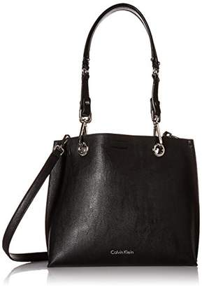 Calvin Klein Faux Leather Reversible East/West Tote