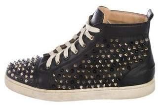 Christian Louboutin Louis Spike Flat Sneakers