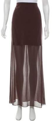 Alexander Wang Silk Maxi Skirt