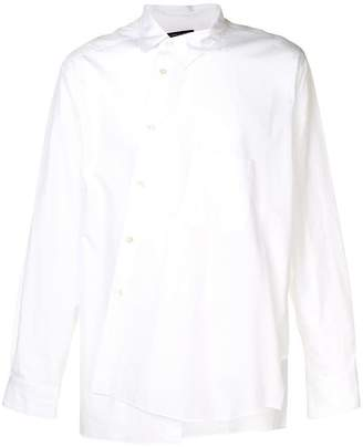 Comme des Garcons long-sleeve asymmetric shirt