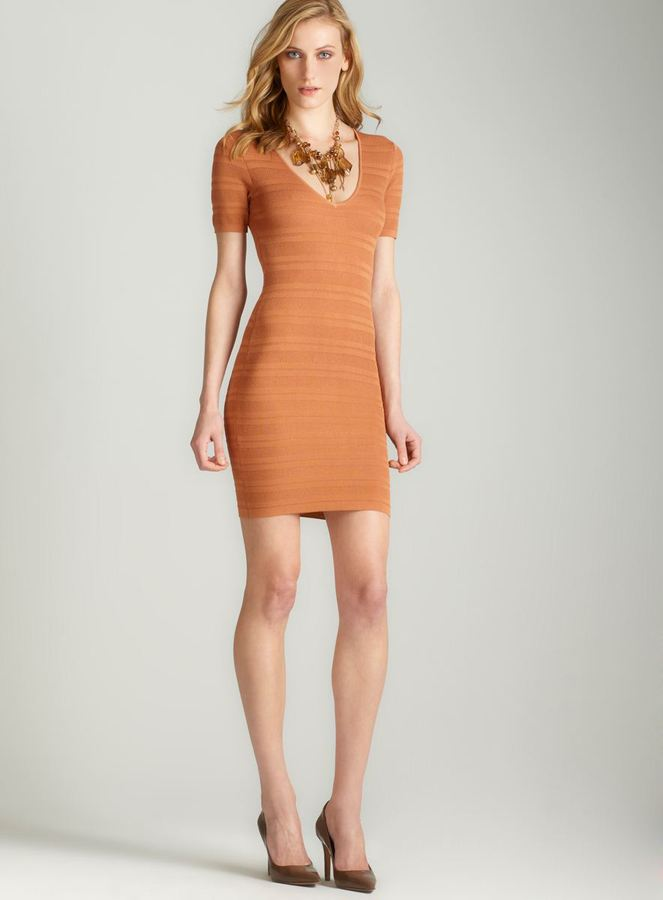 Torn By Ronny Kobo Torn Cathy Pointelle Knit Dress