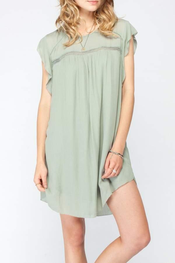 Gentle Fawn Flutter Sleeve Dress