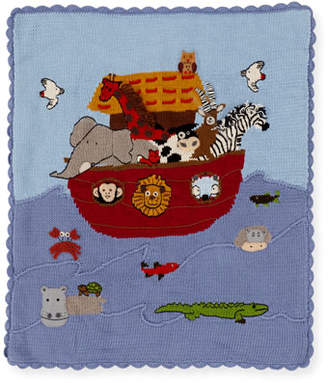Artwalk Art Walk Kids' Noah's Ark Scalloped Blanket