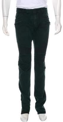 Balmain Biker Slim-Fit Jeans w/ Tags