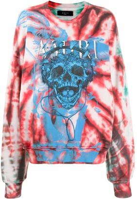 Amiri skull-print sweatshirt