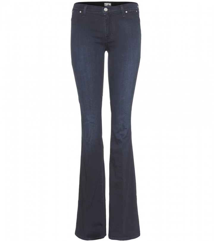 Mother THE CURFEW FLARED LEG JEANS