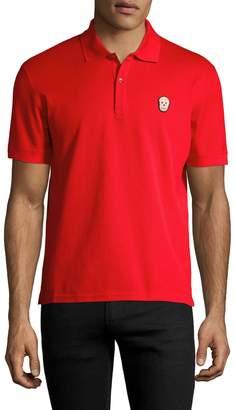 Alexander McQueen Men's Cotton Polo Shirt
