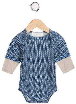 Lucky Jade Girls' Patterned Print All-In-One