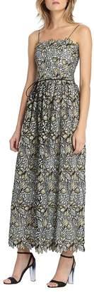Monique Lhuillier Women's Garden Lace Maxi Dress