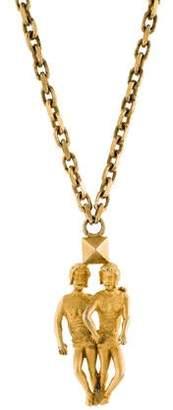 Valentino Gemini Pendant Necklace