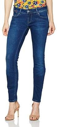 134368eee9bc4 ... Tommy Jeans Women s ULT Low Rise Skinny Natalie FDBST (Fresh Dark Blue  Stretch 911)