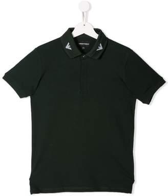 Emporio Armani Kids short sleeved polo shirt