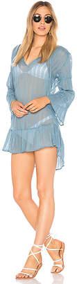Vix Paula Hermanny Ruffle Tunic Dress