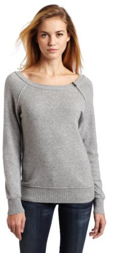 LAmade Women's 100% Cashmere Jenna Raglan Sweater