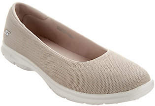 Skechers GO STEP Mesh Ballet Slip-On Shoes -Luxe