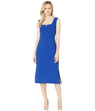 Adrianna Papell Cameron Textured Midi Sheath Dress