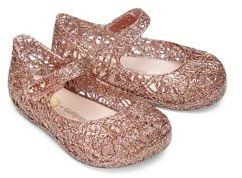 Mini Melissa Baby's & Toddler's Dance Machine Ballerina Flats $55 thestylecure.com