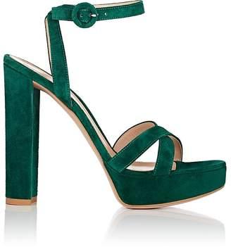 Gianvito Rossi Women's Suede Platform Sandals