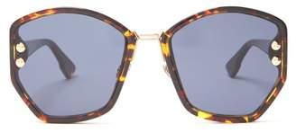 Christian Dior Dioraddict2 Acetate Sunglasses - Womens - Blue