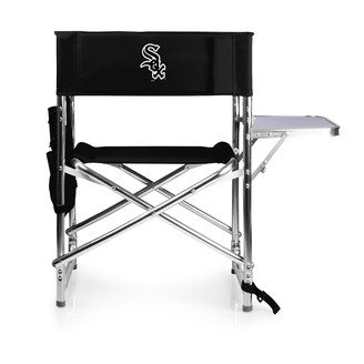 Picnic Time Chicago White Sox Sports Side Table Chair