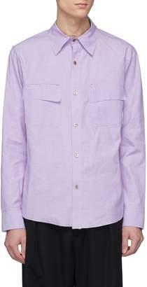 Sulvam Chest pocket woven shirt