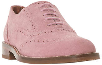 Bertie Fae Lace Up Brogues, Blush