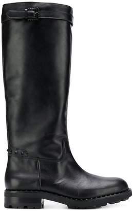 Ash Wampas Black Gun studs boots