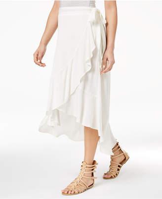 American Rag Juniors' High-Low Wrap Skirt, Created for Macy's