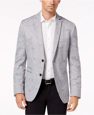 INC International Concepts I.n.c. Men's Slim-Fit Metallic Jacquard Blazer, Created for Macy's