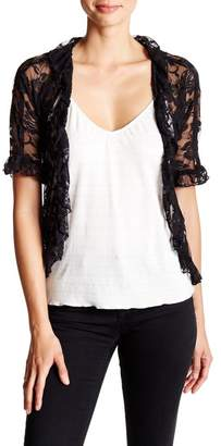 24\u002F7 Comfort Ruffled Lace Shrug (Regular & Plus)