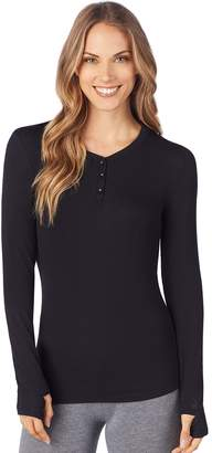 Cuddl Duds Women's Softwear Stretch Henley