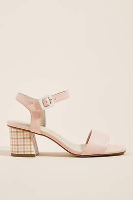 5dbd270567 Capelli Rossi Gingham Heeled Sandals. Anthropologie ...