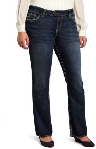 Silver Jeans Juniors Plus-Size Tuesday Bootcut Jean