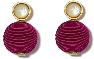 Lizzie Fortunato Mara Pink Earrings