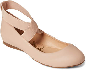 Jessica Simpson Ballerina Mayday Ankle Strap Flats