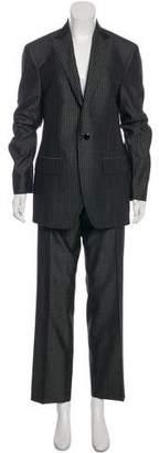 Etro Pinstripe Mid-Rise Pantsuit