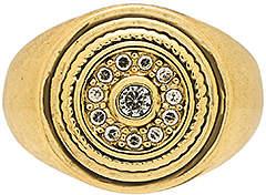 Luv Aj The Cosmic Disc Pinky Ring