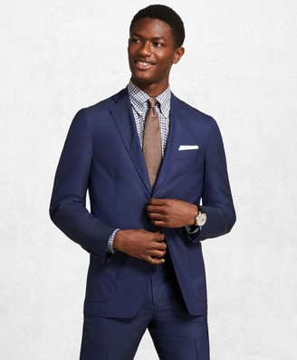 Brooks Brothers Golden Fleece BrooksCloud Royal Blue Suit