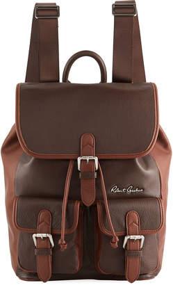 cc9a338f77 Robert Graham Men's Alondra Leather Rucksack Backpack