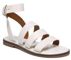 Franco Sarto Kyson Ankle-Strap Leather Sandals