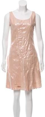 Christian Dior Linen Sleeveless Dress