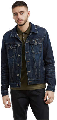 True Religion MENS DISTRESSED DANNY DENIM JACKET