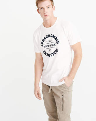 Abercrombie & Fitch Applique Logo Tee